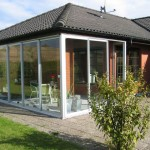 dører sliding aluminium glass